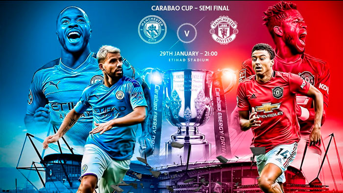 Carabao Cup - Derby thành Manchester