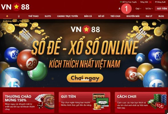 Giao diện VN88