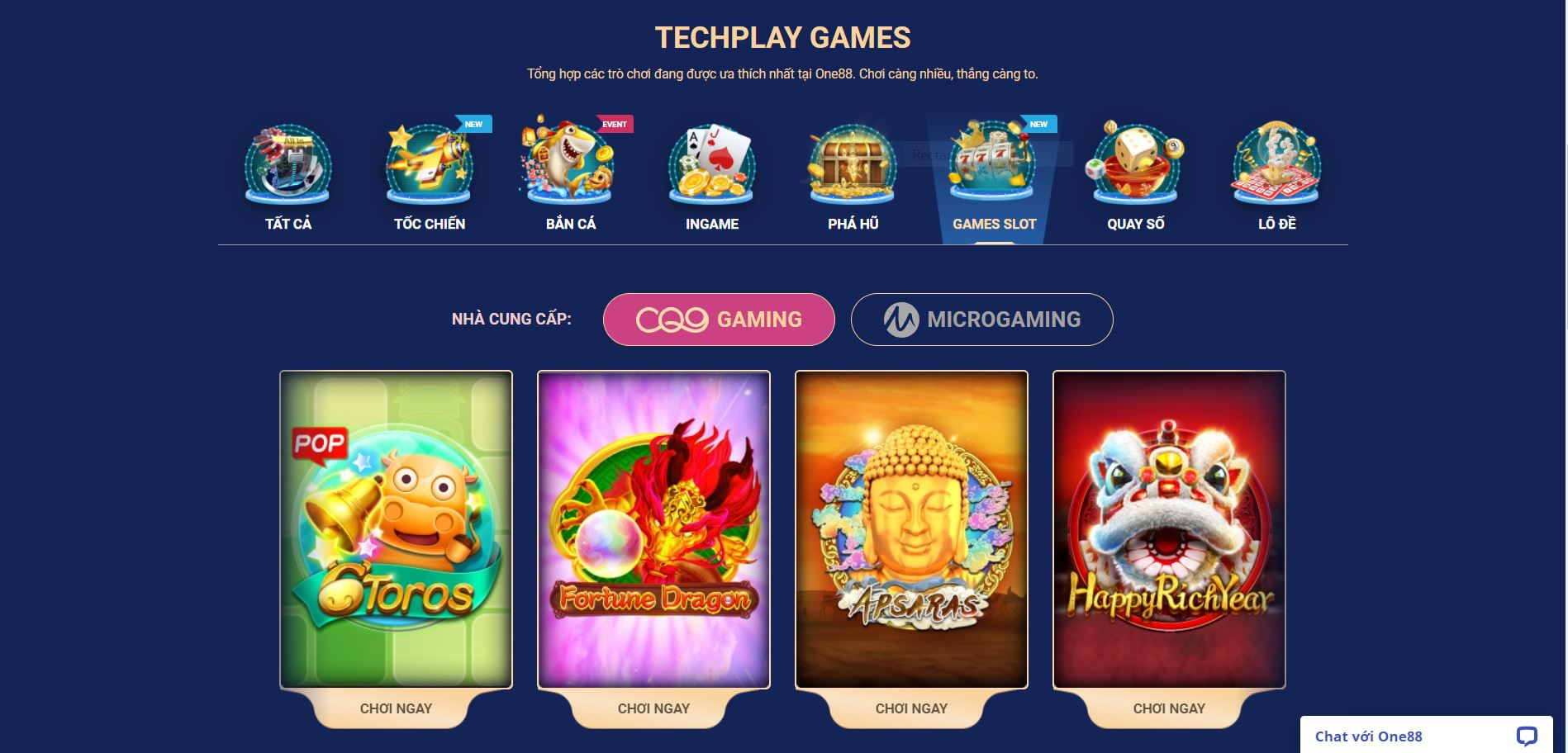 Game Slots ONE88