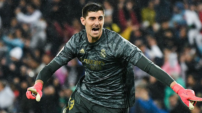 Courtois trụ cột của Real Madrid