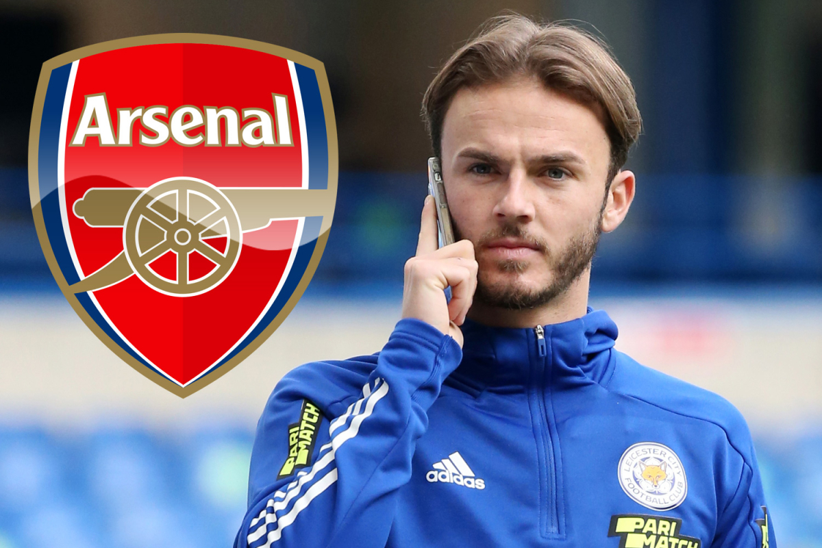 Arsenal are still trying to reach Maddison